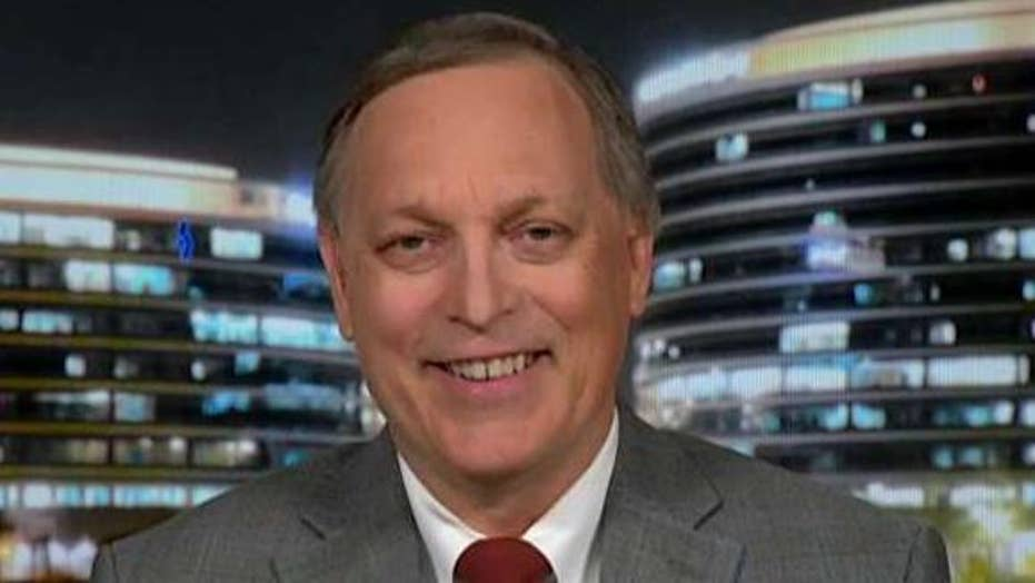 Rep. Andy Biggs on what it will take to end the partial government shutdown: Schumer has to 'bite the bullet' and fund the wall.
