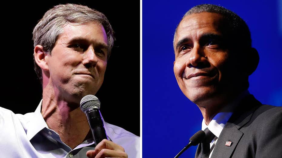 Recent meeting between former President Obama and Beto O'Rourke is causing speculation about intentions for a 2020 bid