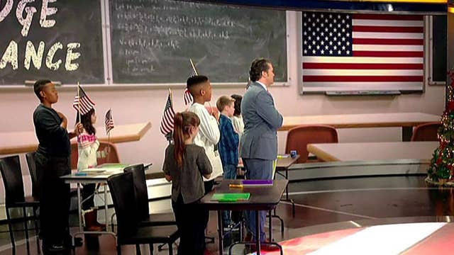 'Fox & Friends' honors the Pledge of Allegiance
