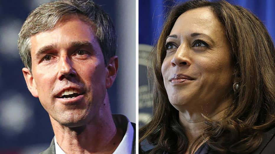 Democrats are looking to new candidates for a 2020 presidential bid, Kamala Harris and Beto O'Rourke are top contenders