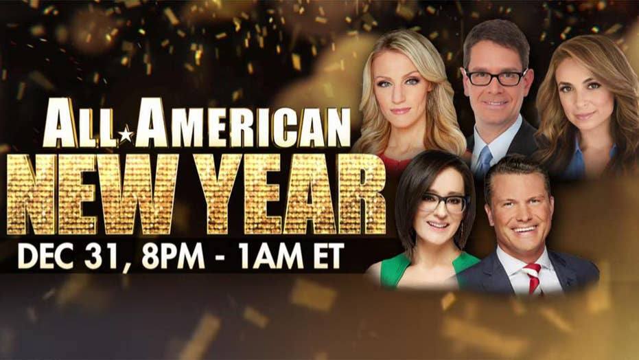 Griff Jenkins and Carley Shimkus preview what can be expected from the Fox News New Year's Eve Special