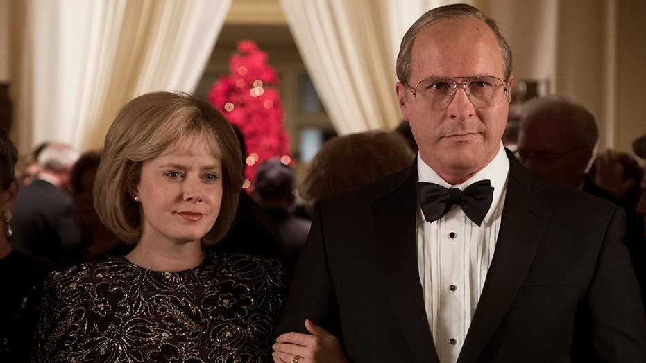'Vice' stars Christian Bale and Amy Adams open up about the challenges of playing Dick and Lynne Cheney in new movie