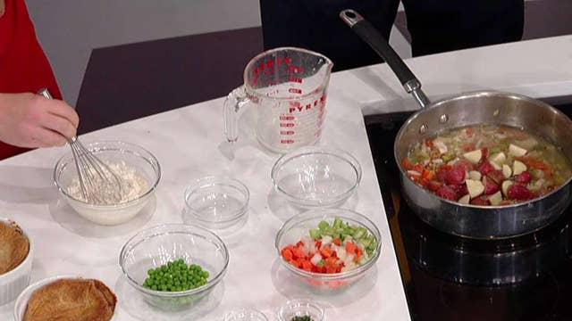 Healthy spins on your favorite comfort foods: Chef Karla Williams' chicken pot pie