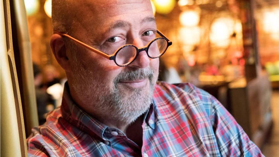 TV cook Andrew Zimmern in prohibited H2O after 'hores---' Chinese food comment