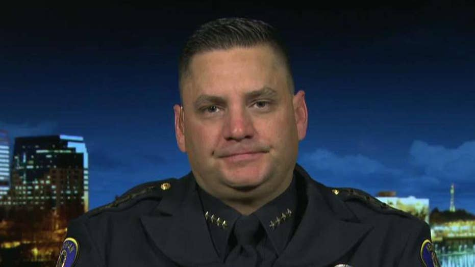 Newman, California, Police Chief Randy Richardson speaks out about murdered Cpl. Ronil Singh