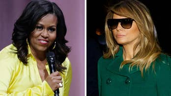 Double standard? Media hypocrisy over first lady fashion: Melania Trump mocked, Michelle Obama praised
