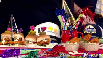 Nashville-themed appetizers for New Year's Eve from chef Zach Sass
