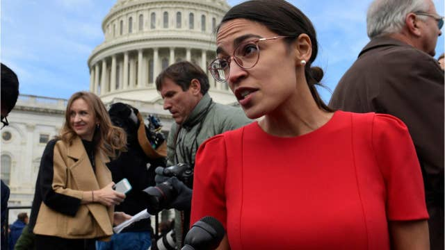 What is the 'Green New Deal' proposal drafted by Rep. Alexandria Ocasio-Cortez?