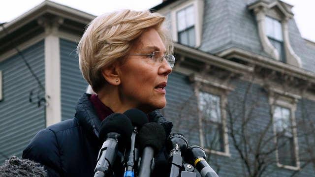Sen. Elizabeth Warren takes first step towards a 2020 presidential run