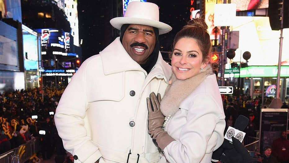 Steve Harvey rings in 2019 from New York City on 'FOX's New Year's Eve with Steve Harvey: Live From Times Square'