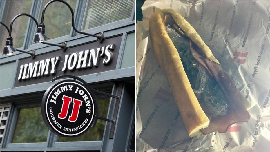 Jimmy John's delivery driver found hiding stash of weed in sandwich