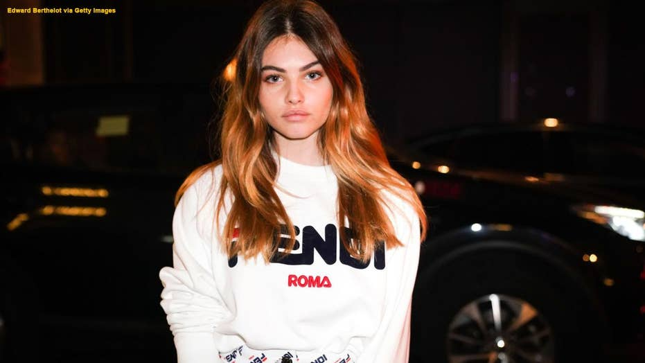 Thylane Blondeau wins her second award for 'the most beautiful girl in the world'