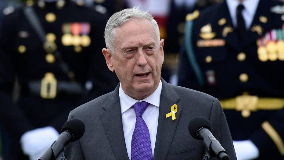 Defense Secretary Mattis sends farewell message