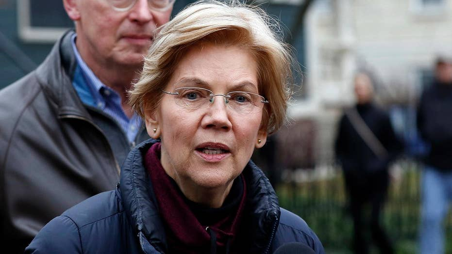 Sen. Elizabeth Warren cracks open beer during New Year's Eve live chat with followers on social media