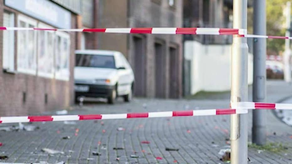 Police: Suspect makes anti-foreigner comments after ramming car into migrants in Germany, injuring four