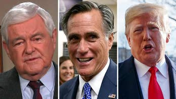 Newt Gingrich to Mitt Romney after his attack on President Trump: The Senate doesn't care who you used to be