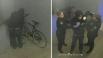 Oregon man arrested after allegedly attempting to steal bike outside police station