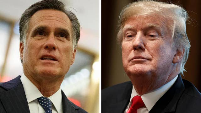 Trump fires back after Mitt Romney writes scathing op-ed criticizing the president, reaction from Marsha Blackburn