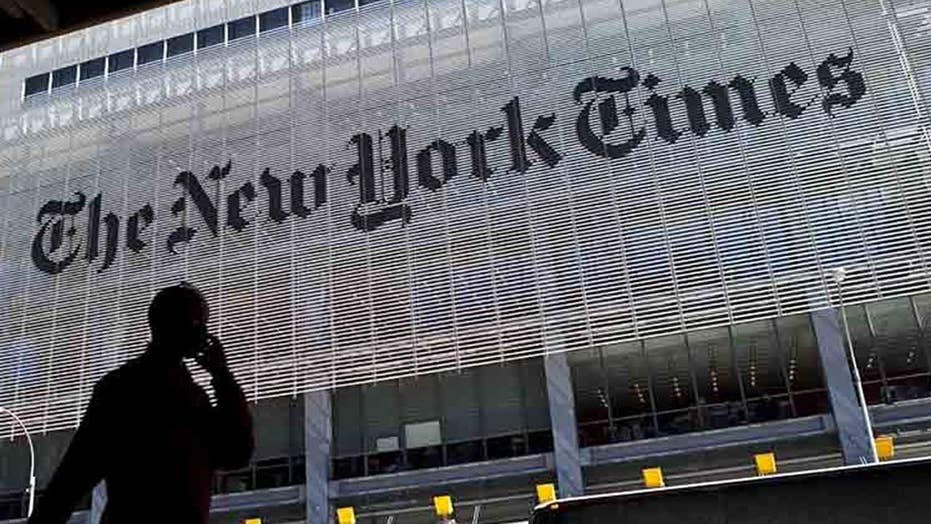 Former New York Times editor slams publication as being unmistakably anti-Trump, younger employees throw out standards