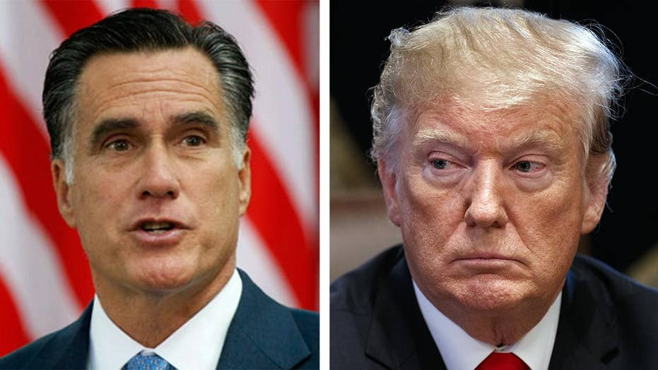 Mitt Romney calls out Trump's glaring leadership 'shortfall' in Washington Post op-ed.