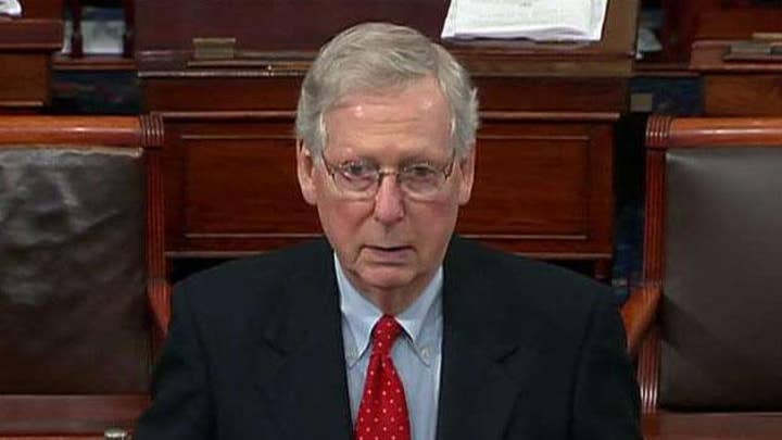 McConnell to incoming Dems: Senate will not waste its time on a bill the president will not sign