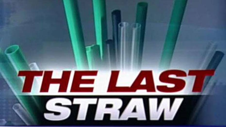 Tucker Carlson: The left wants to take away your straws – but