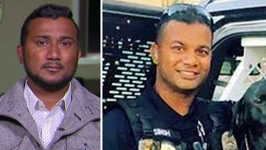 Slain California officer Ronil Singh's brother, police chief open up on 'Fox & Friends' on the 'preventable tragedy'