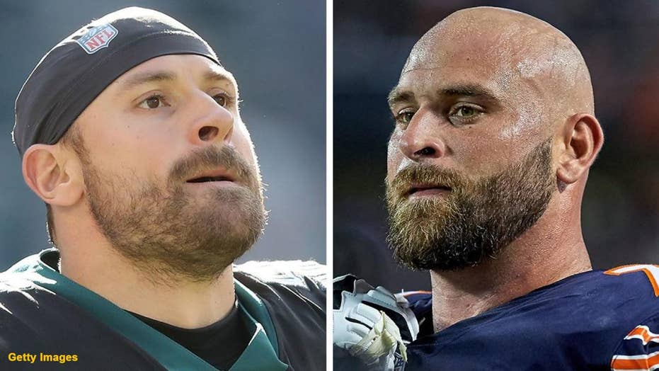 f848f0fb690 Brother's, Bear's guard Kyle Long and Eagles defensive end Chris Long to  face off in