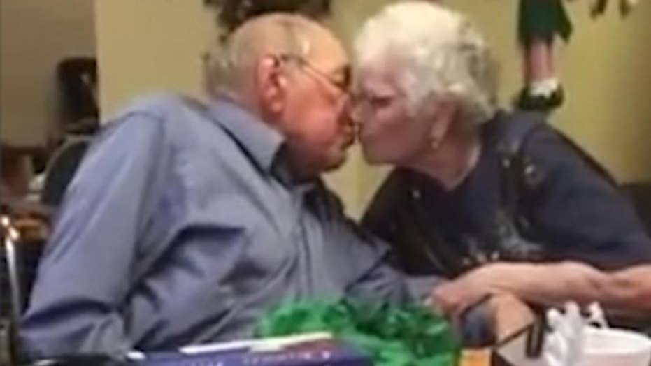 Man surprises wife of 67 years with new diamond engagement ring
