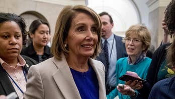 Pelosi's questions if President Trump can handle 'women in power'