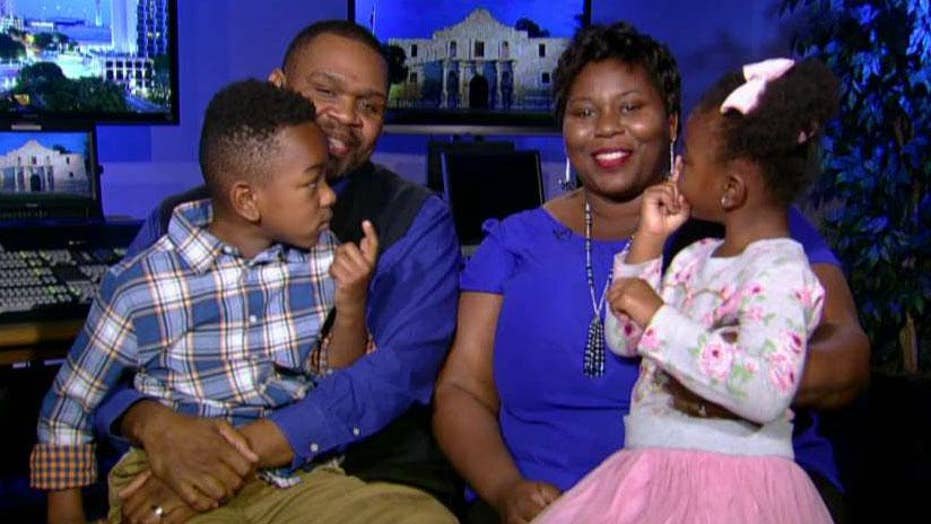 Shaw family: Divine intervention brought children into our lives after heartbreak