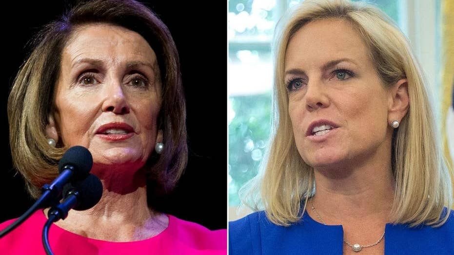 Pelosi, Nielsen clashed during border-security meeting