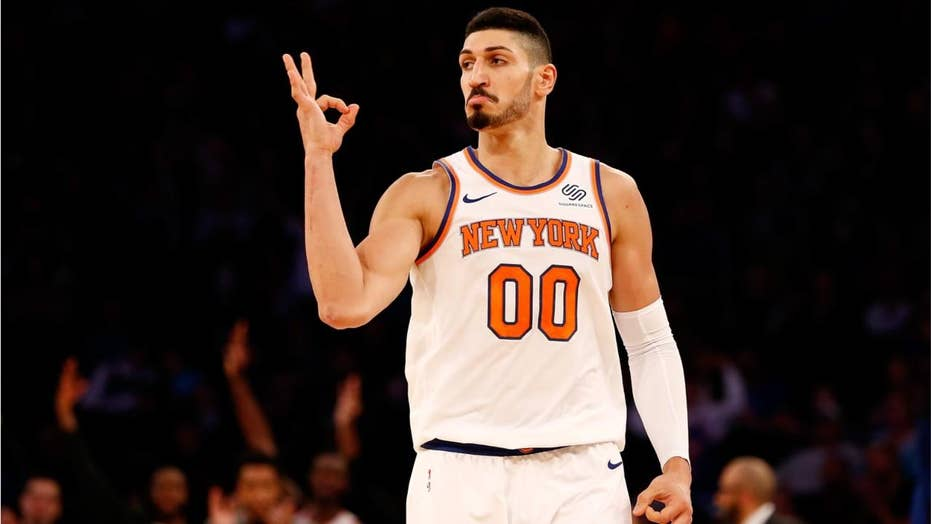 Knicks' Turkish star Enes Kanter skipping London trip