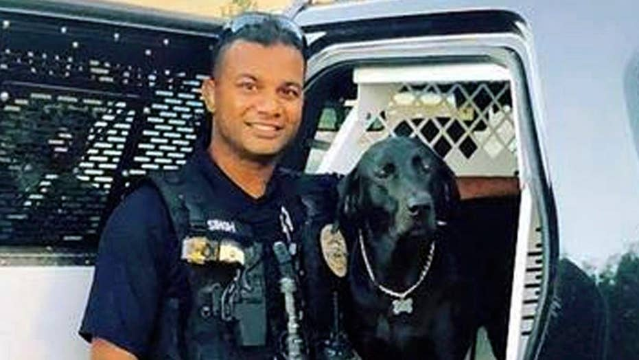 Funeral held for officer killed by illegal immigrant
