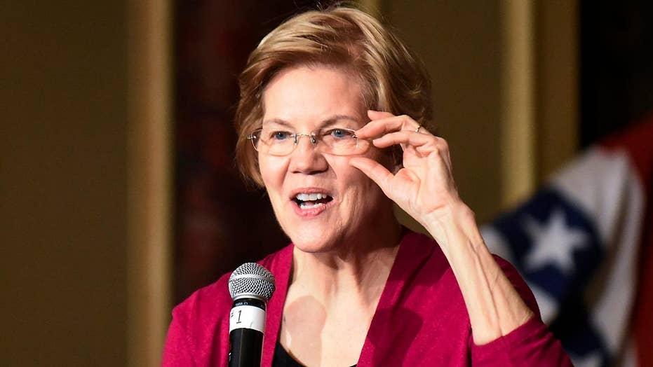 Sen. Elizabeth Warren is making the rounds in Iowa after announcing her presidential exploratory committee