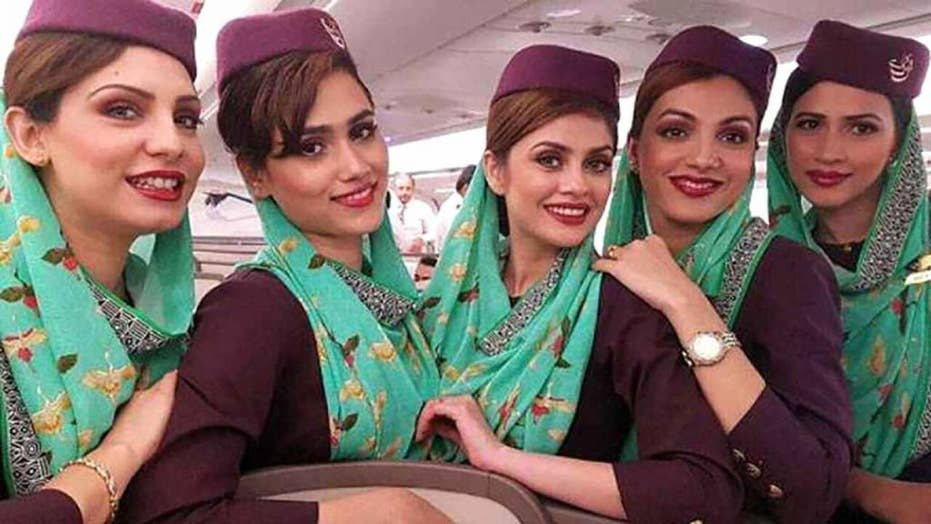 Pakistan International Airlines tells 'obese' cabin crew to lose weight