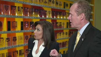 Judge Jeanine gets a behind-the-scenes look of the National Law Enforcement Museum in Washington, DC