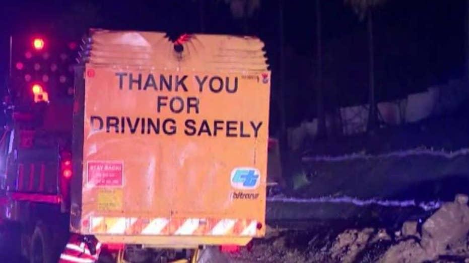 Mudslides shut down major California highway