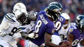 Ravens, Chargers fans fight in stands during NFL playoff game