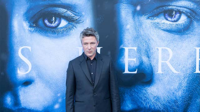 'Game of Thrones' star Aidan Gillen talks leaving HBO series, suiting up for 'Project Blue Book'