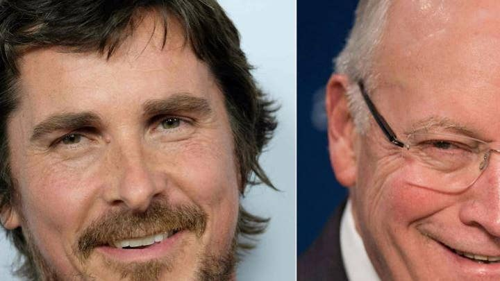 Christian Bale refers to Dick Cheney as 'Satan' add during Golden Globes acceptance speech
