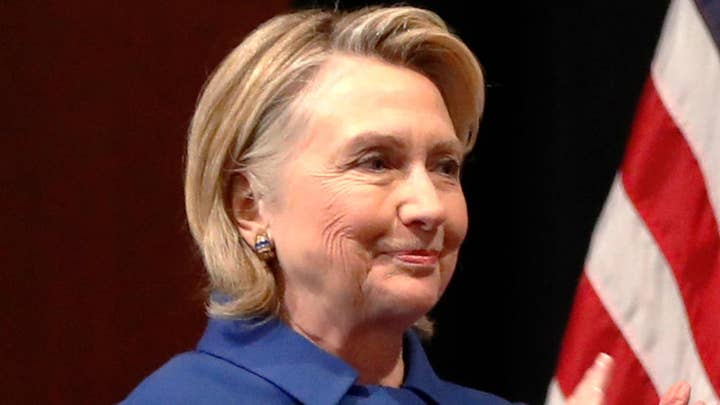 Hillary Clinton jokes while thanking elected women leaders: I can attest how 'likeable' you all are