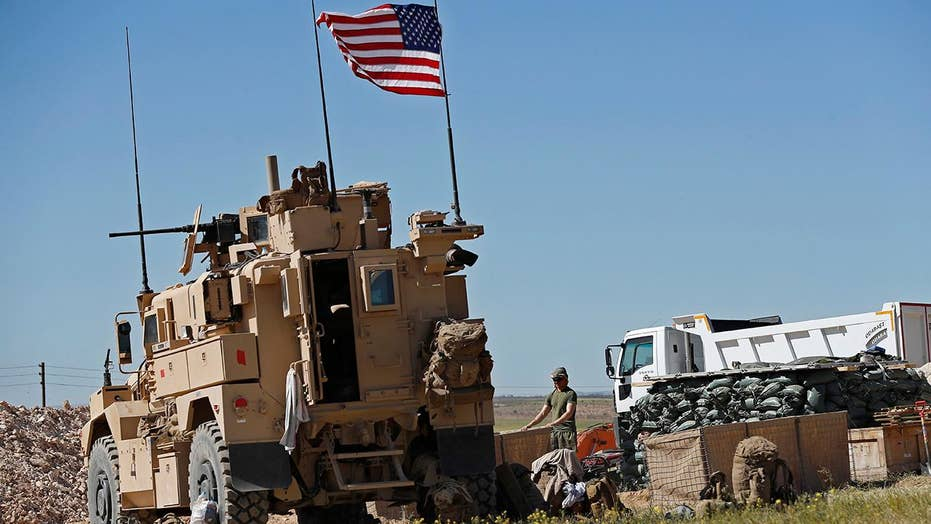 White House clarifies conditions about a designed US couple repel from Syria