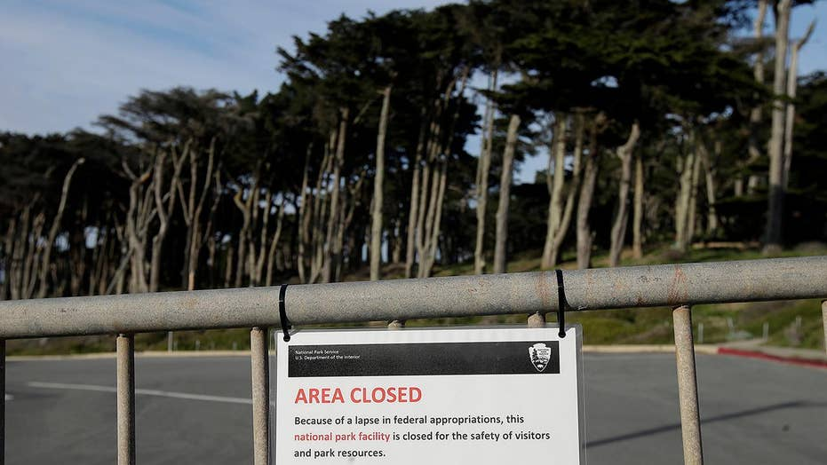 National Park Service dips into entrance, camping and parking fees to pay for staffing and keep some parks open