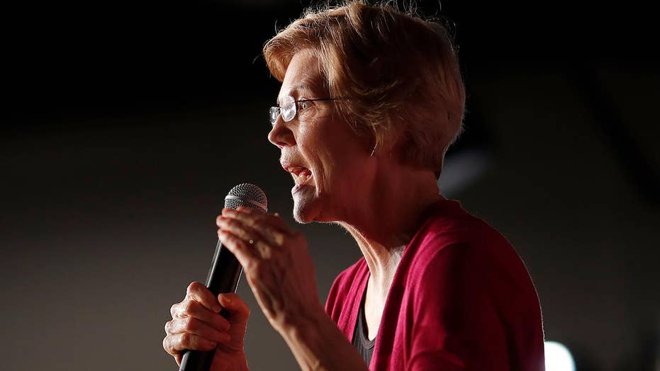 Does Sen. Warren's 2020 bid raise the stakes for the rest of the Democratic field?