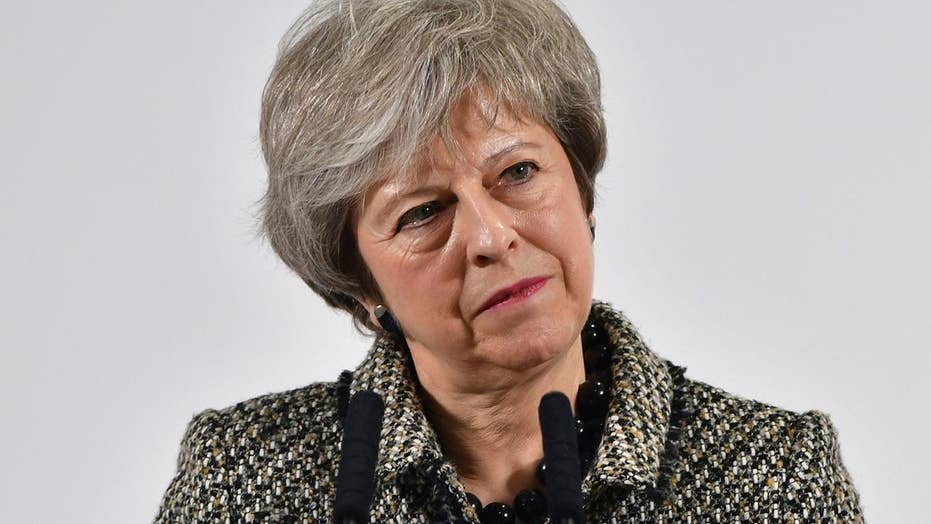UK PM Theresa May says Brexit vote will 'definitely' happen