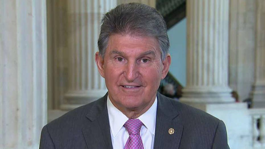 Sen. Manchin: 2013 Senate immigration reform bill has everything President Trump wants to secure the border