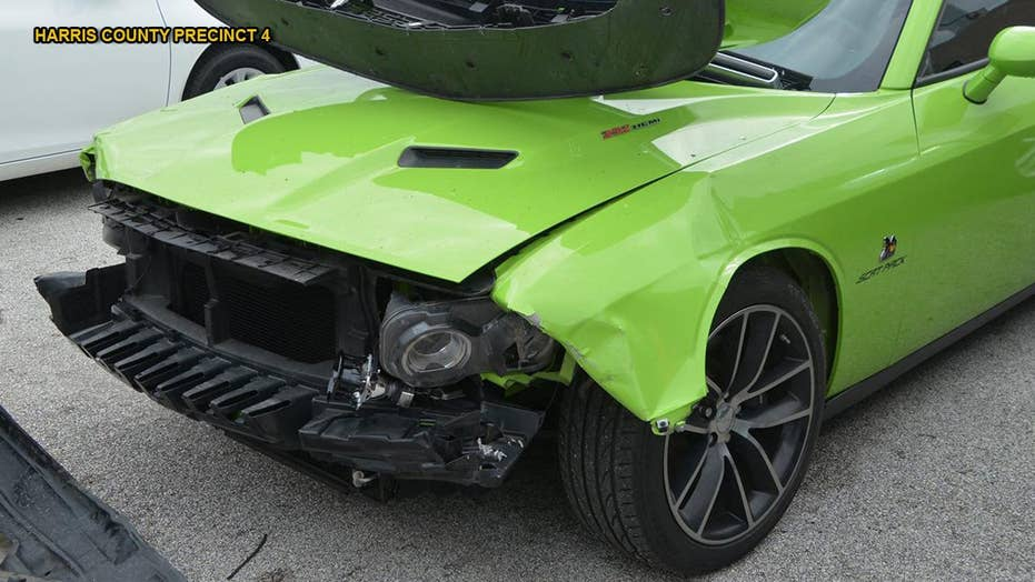 Kids cause $800G damages at Houston car dealership; wreck Ford Mustang, Dodge Challenger