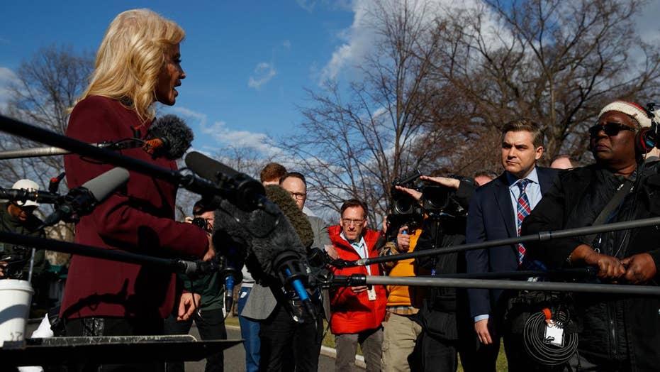 Kellyanne Conway embarrasses CNN's Jim Acosta: 'You're such a smarta--'