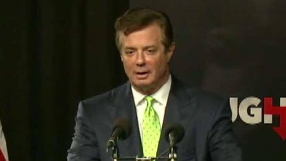 Manafort accused of giving info to Russian consultant